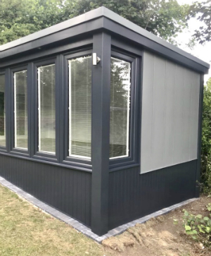 Skirting On Your Garden Studio or Garden Office