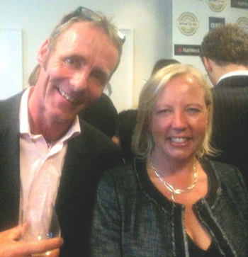 Alex and Deborah Meaden