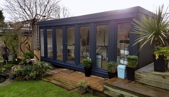 Garden offices uk garden cabins garden outhouses for Garden studio uk
