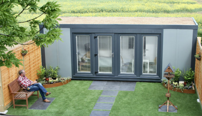 The New QCB Garden Annexe For Your Family Members