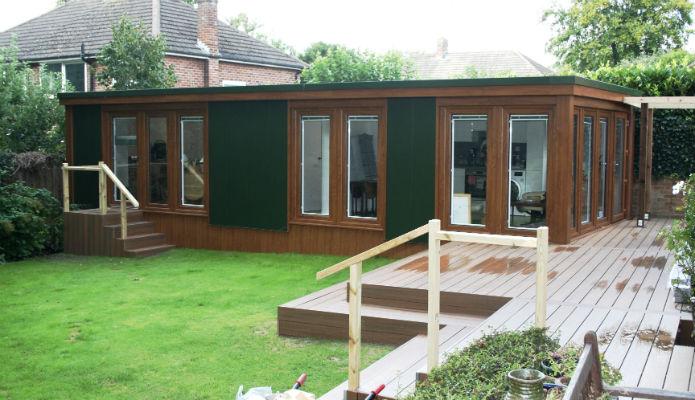 10m X 3.64m Granny Annexe QC6 Garden Studio Garden Annexe