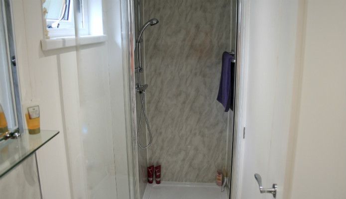 shower room in granny annex ensuite
